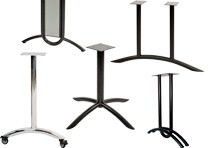 U and X Shaped Table Legs