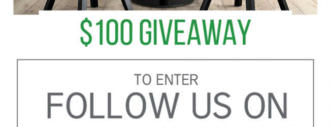 October $100 Gift Card Giveaway
