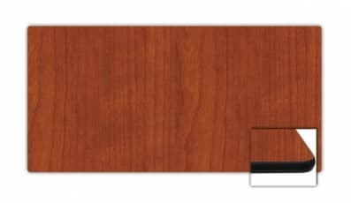 "24"" x 48"" Rectangular Top, Cherry, Rounded Edge"