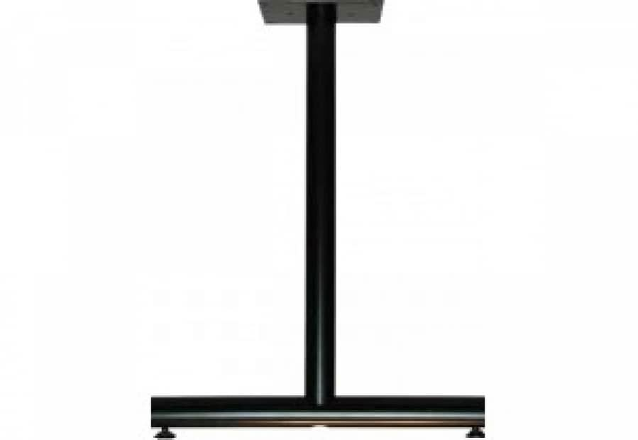 Standard Height - Single Column T-Legs 34 | Legs&Bases