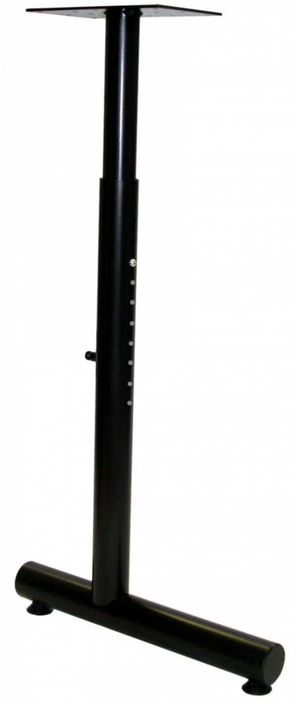 Adjustable Height C Shaped Tubular Steel Bases With