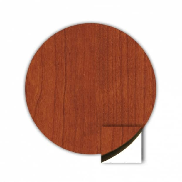 "36"" Round Top, Cherry, Flat Edge 80 