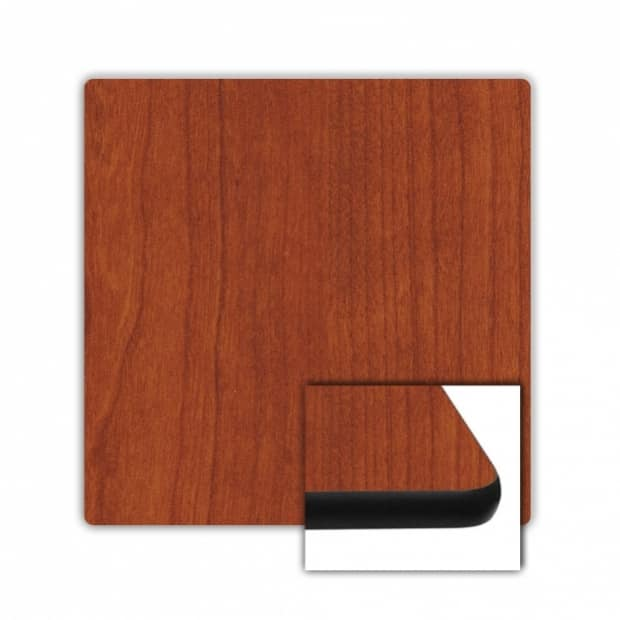 "42"" x 42"" Square Top, Cherry, Rounded Edge 83 