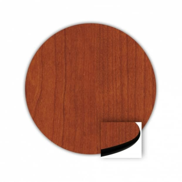 "36"" Round Top, Cherry, Rounded Edge 85 