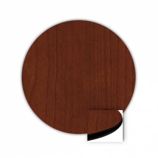 "36"" Round Top, Mahogany, Rounded Edge 89 